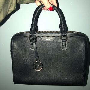 Henri Bendel Black Shoulder Bag